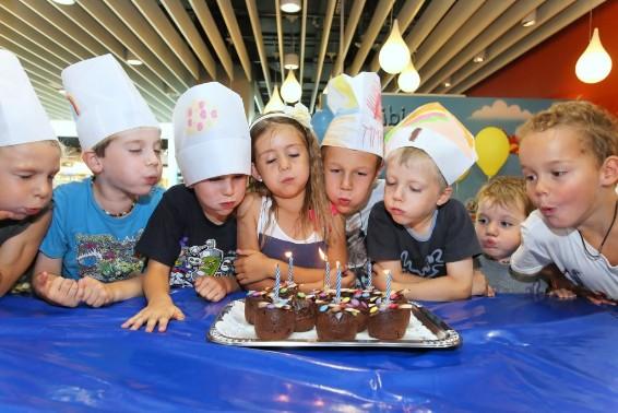 Festa di compleanno per bambini alla Migros